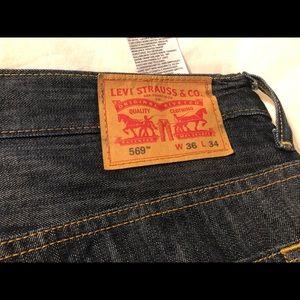 Men's Levi's jeans 36x34